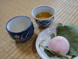 手作り煎茶でお茶会