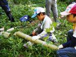 竹コップ作り