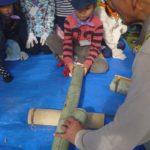 【報告】わんぱく里山 11/26「竹筒ごはんを竹の食器でいただきます」