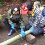【報告】里山de遊び隊 2/24「竹を使って遊ぼうよ!」