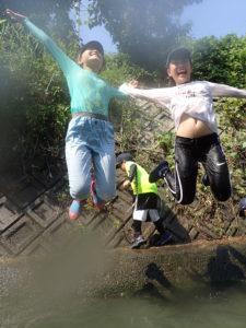 【報告】里山BASE in summer~川へジャンプ!~