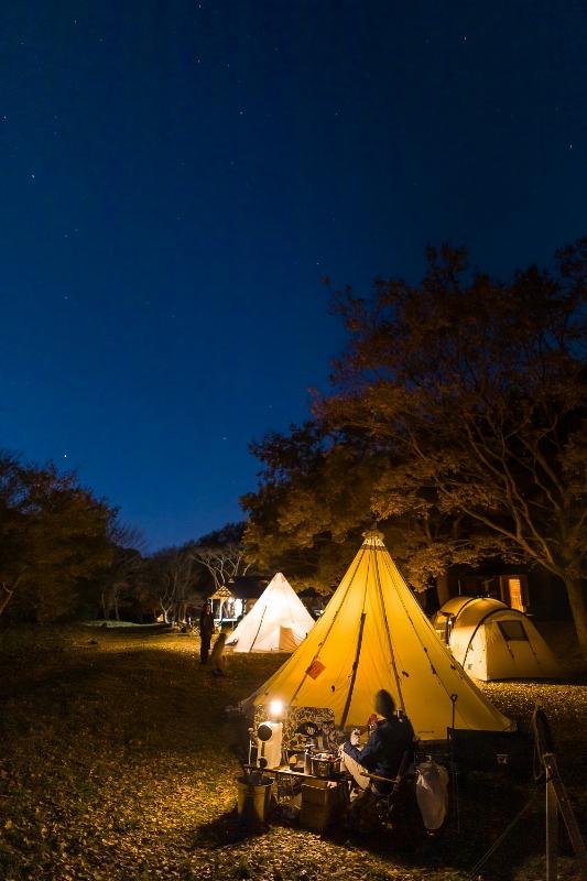 【報告】星空キャンプ@遊木の森