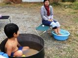 【年少~小2/親子】ごえもん風呂に入ってみよう!※ホクホク 焼いも付き♪
