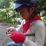 【報告】里山de遊び隊 7/22「川にはどんな生き物が?」